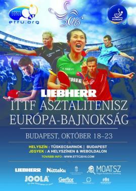Európa Bajnokság Budapest 2016
