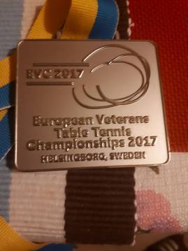 Veterán Európa Bajnokság 2017 - Svédország