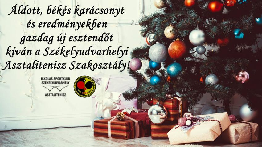 Kellemes Karácsonyt Kívánunk!